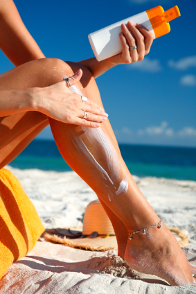 Zinc is in all sunscreen and is very common in both its oxide and other compound forms