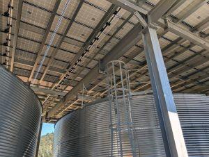 Silver Oak Winery Solar Canopy