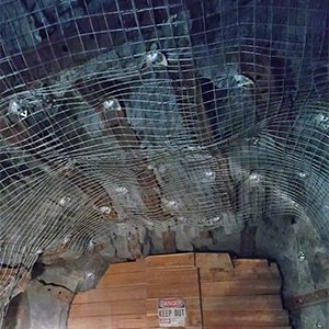 Wire Mesh Stillwater Mine