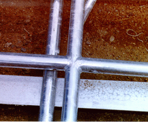 Welded Galvanizing