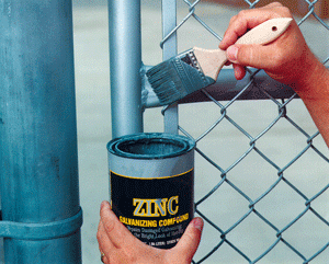 Zinc Paint Touchup