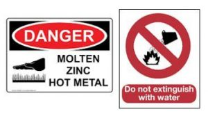 Zinc Warning Signs
