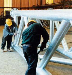Inspection of galvanized steel