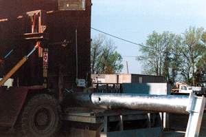 Weighing Galvanized steel