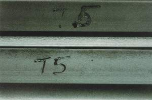 galvanized steel Surface Contaminant (rejectable)