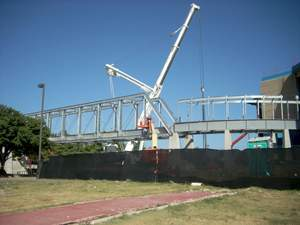 Burlington Northern Santa Fe Railway Pedestrian Bridge Project