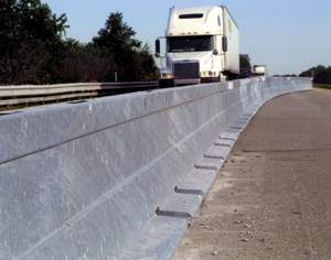 Zoneguard highway dividers