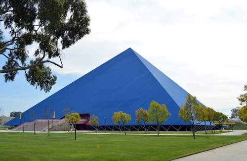 Walter Pyramid Long Beach State University