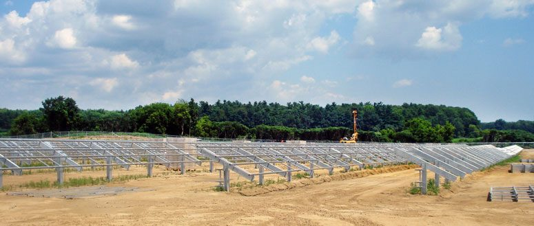 Canadian Solar Farm