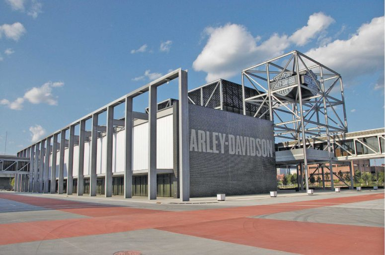 Harley Davidson Museum in Milwaukee, Wisconsin