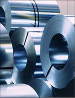 coils of continuous galvanized sheet metal