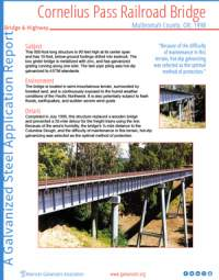 Cornelius  Pass  Railroad  Bridge  Case  Study Thumb